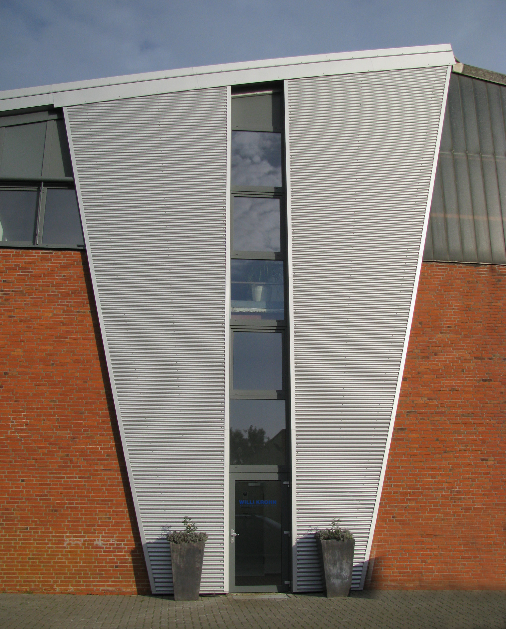 Eisenhalle Eingang